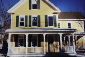 new porch for 1890 home
